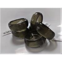 Krúžky na servítky - sivozelené