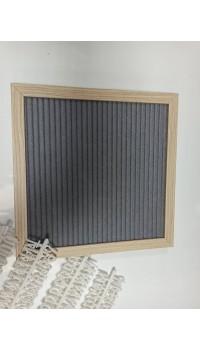 Písmenková tabuľka fleece