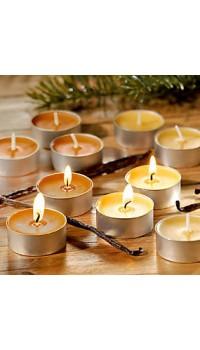 Čajové sviečky - vanilka