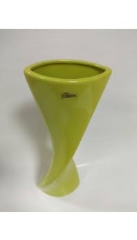 Váza točená - zelená