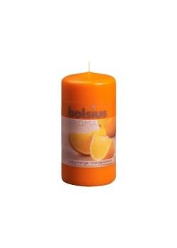 Sviečka valec - pomaranč