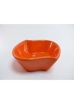 Porcelánová miska - oranžová