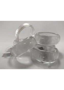 Krúžky na servítky - transparentné