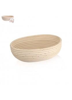 Ošatka na chlieb polooválna - 28cm