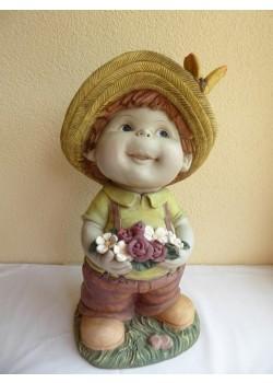 Záhradná figúrka - chlapček