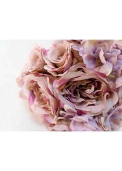 Ružovo-fialová kytica