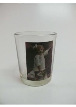 Svietnik na čajovú sviečku s podtlačou